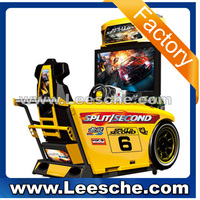 Split Second 42''LCD racing car free game download 3d video car racing game machine simulator game machine
