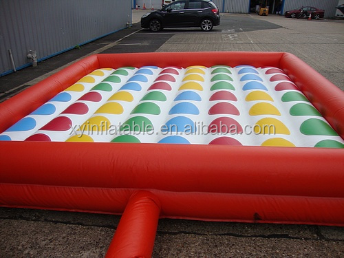 2016 new inflatable adult games, Giant Inflatable Twister for sale