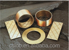 TF-1 Solid Lubricant Bushing Bronze Turned Bearing Stainless Oilless bushing OEM