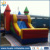 2017 Fashion inflatable boucner for kids play , inflatable combo with slide