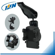 158SV Auto Cell Phone Holder Clip Rotation Universal Car Sun Visor Mount Holder