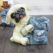 Factory custom made personalized resin dog pen holder