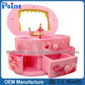 Pink best selling music box with mirror