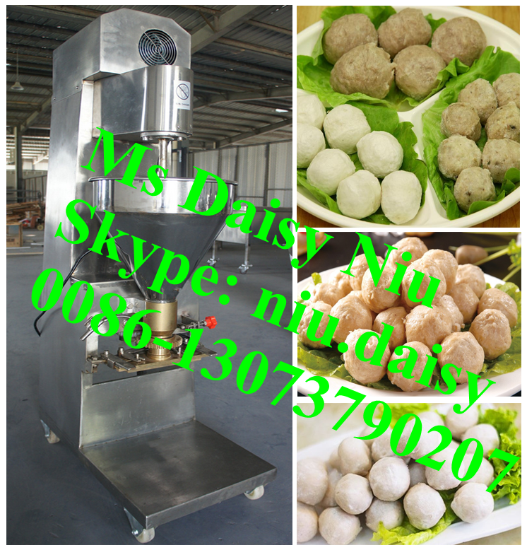 automatic meat ball forming machine/fish ball forming machine/beef meat ball machine