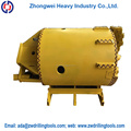 good quality hard Rock drilling bucket with single bottom for rotary machine parts