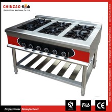 CHINZAO Best Selling Product In Europe 30*30cm/each Burner Industrial Gas Stove