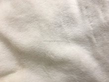 Hot sell rabbit knitted fur fabric for garment