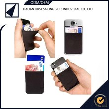 Cheap Heat transfer blank new soft phone card holder
