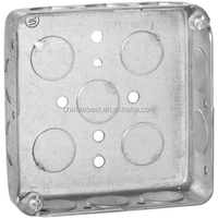 4 inch UL decorative metallic outlet box junction box