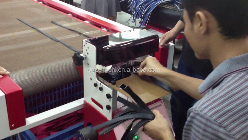 Horizontal Leather belt double Edge Painting Machine