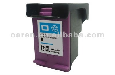 Printer Cartridge for hp 121 Cartridge Deskjet for hp 121 xl CC641HE