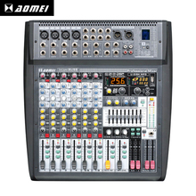 The latest technology Imixer8USB professional music dj sound audio mixer sound speaker system