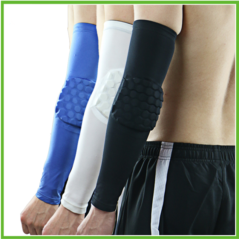 Strong Honeycomb Pad Crashproof Sport Protective Gear arm sleeves