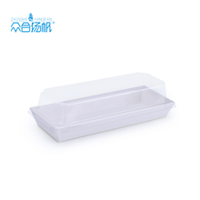 YangFan PET transparent mini cupcake/donut/sandwich plastic bakery package box with clear lid