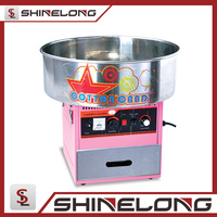 Professional automatic industrial commercial gas cotton candy machine