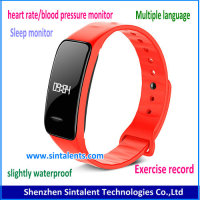 Top-quality smart band for fitness and sleep monitor ,sport fitness band smart wrist band watch