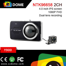 NTK96658 Good quality Car black box 1080P FHD with 4inch screen wide angle dashcam