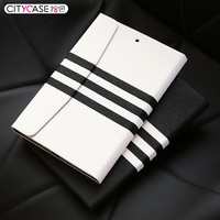 city&case strip design flip cover case for tablet for ipad air