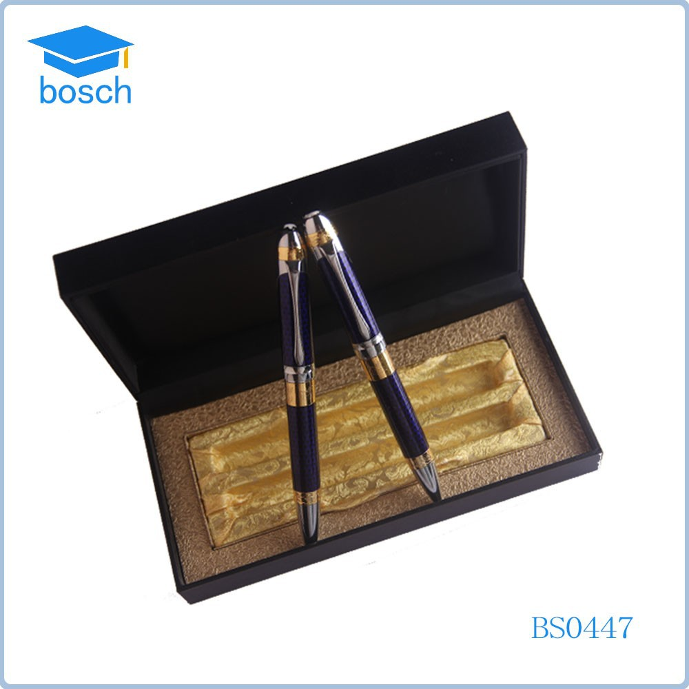 Novelty 2016 mont pen copy gift set metal pen sets for men heavy metal pens