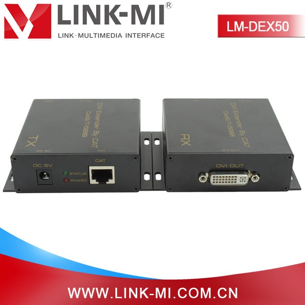 LINK-MI LM-DEX50 50m DVI to UTP Extender long distance transmission of high definition signal