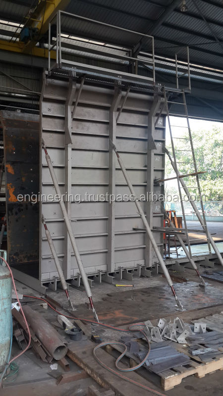 Pre-Stress RC 4000 U-Beam Mould/U Beam Concrete Mould