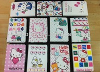 Hellokitty series case for ipad mini with dormancy function,TPU cover inside
