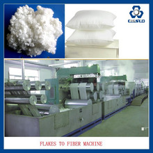 PET BOTTLES RECYCLE POLYESTER STAPLE FIBER EXTRUSION MACHINE, SOLID STAPLE FIBER MAKING MACHINE