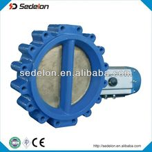 lug type Pneumatic Operated Butterfly Valve