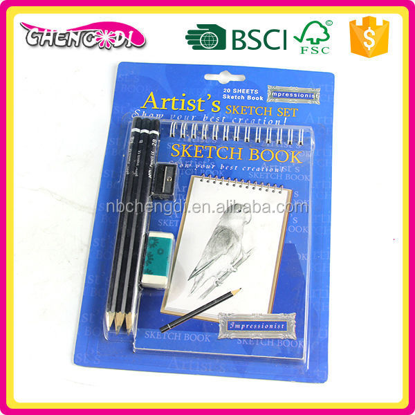 Fashion Product notebook with pen, 120gsm Idea Sketch book, note book with pen