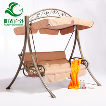 2016 Top-selling Cast Iron 2 Seats Outdoor Garden Swing