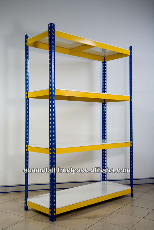 Malaysia Eonmetall Steel Storage Shelf (Boltless Shelving)