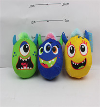 wild animal big eyed plush toys big head