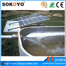 solar water pumps for well