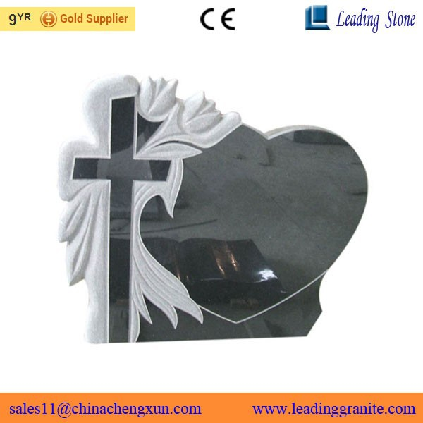 Factory supply cross shaped headstone
