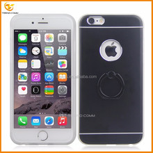 hot motomo metal aluminum cover for iphone 6 plus with ring holder