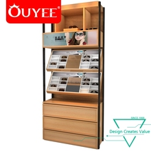 China Wholesale 3D Design Boutique Eyewear Glasses Wooden Display Racks For Shop