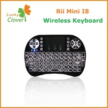 Mini 2.G Wireless Li Battery I8 Air Fly Mouse Rii i8 2.4G Wireless Keyboard With Touchpad
