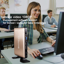 management software supported pcoip thin client X6 with online video