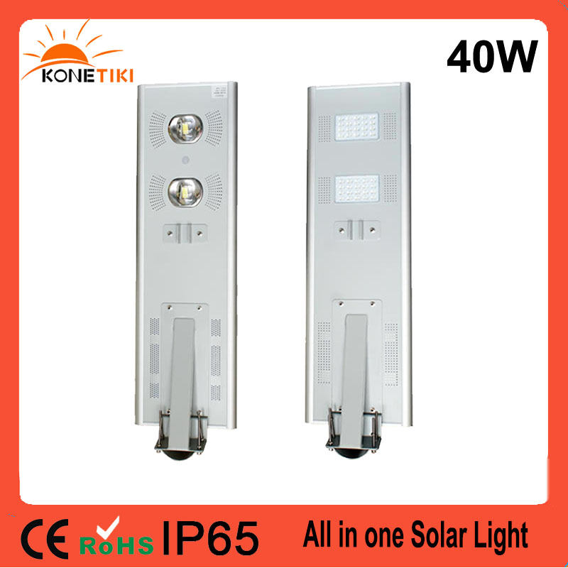 LED Solar Energy Product 15w 20w 30w 40w all in one solar piers street light