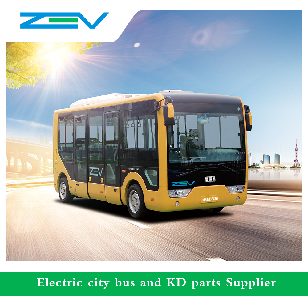 ZEV China auto luxury bus price mini bus electric city bus for sale