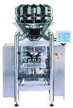14-head Combination Scale with VFFS Packaging Machinery for snacks