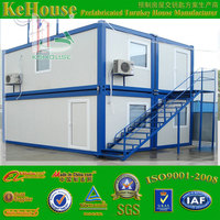 Low cost prefab easy shipping container homes sale for livingand office used