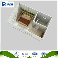 Small mobile house /Light steel container Fast Assembly Wooden Prefab House/ Log Cabin