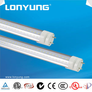 High brightness wide beam angle 240 degree led t8 lube tube