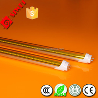 T8 tube led with pink or red color for meat shop lighting