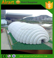 Attractive Advertising air beam inflatable dome