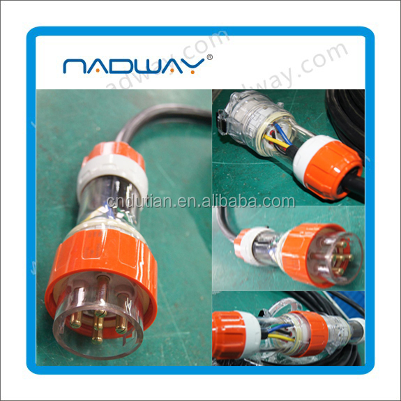 Nadway industrial extension cord SAA Authentication 250V 10A
