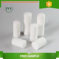 Top grade new coming cotton gauze bandage with woven edge