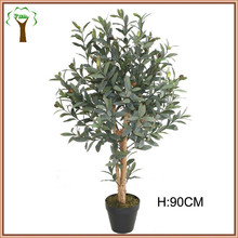 New 3ft tall artificial olive tree with fruits