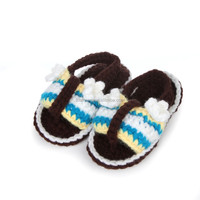 OEM custom hand crochet baby shoes